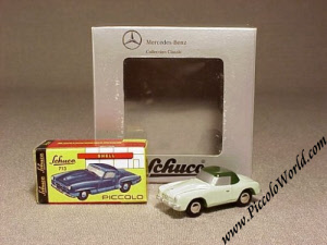 schuco piccolo mercedes benz 190 sl iaa 1997 scale model. Black Bedroom Furniture Sets. Home Design Ideas